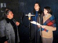 Слева направо: Ольга Темпель, Юлия Шаклеина, Ольга Брюханова